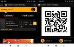 Inilah bentuk QR Code dari GSC untuk scan tiket pawagam
