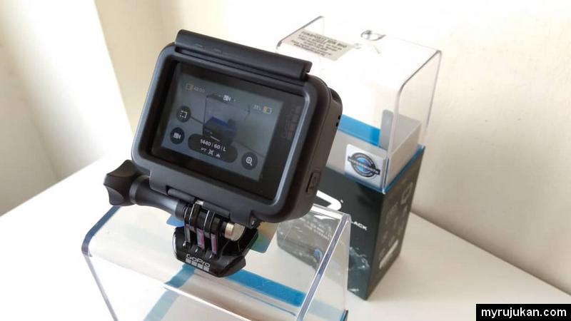 Paparan belakang GoPro Hero 7 Black Edition