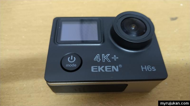 Kamera aksi Eken H6S paling asas