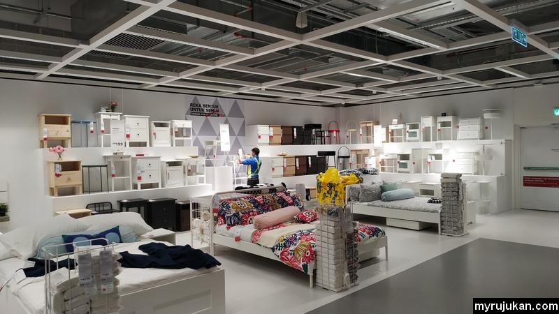Reka bentuk katil dan perabot IKEA