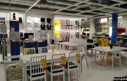 Rekaan kerusi dan meja makan dari IKEA