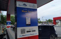 Beli tiket bas guna aplikasi BusOnlineTicket
