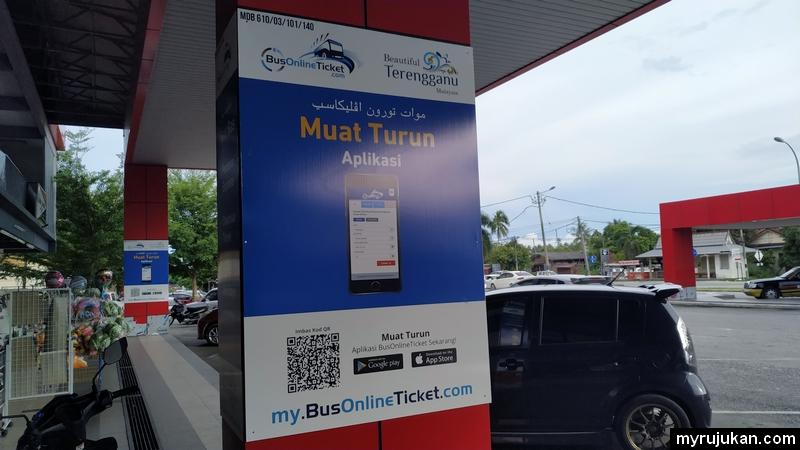 Beli tiket bas online guna aplikasi BusOnlineTicket