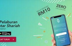 Aplikasi pelaburan unit trust patuh shariah BEST Invest