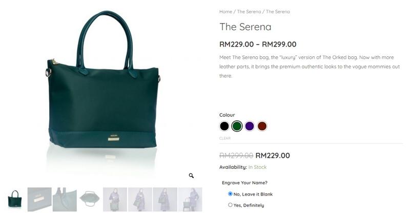 Handbag wanita brand jenama NEUFA