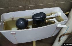 Masalah tangki air pam tandas bocor melimpah