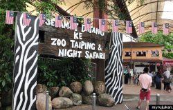 Selamat datang ke Zoo Taiping