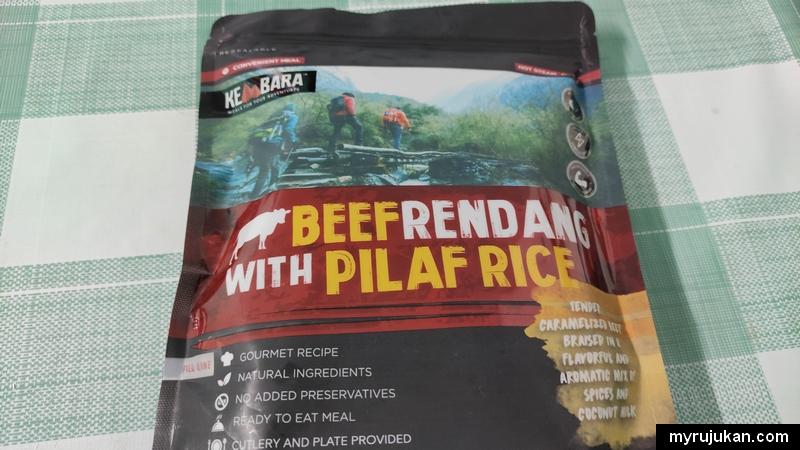 Pek Makanan Beef Rendang With Pilaf Rice KEMBARA