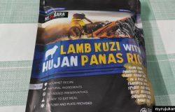 Pek Makanan Lamb Kuzi With Hujan Panas Rice KEMBARA