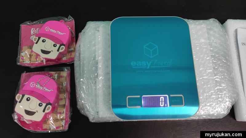 Pita pengukur dan penimbang berat digital Easyparcel