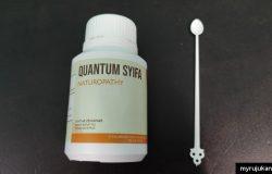 Quantum Shifa ikhtiar penawar demam, batuk, flu, influenza dan virus