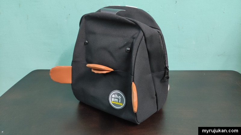 Beg baju baby yang dibeli dari Shopee