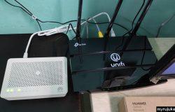 Ini adalah modem dan router Unifi