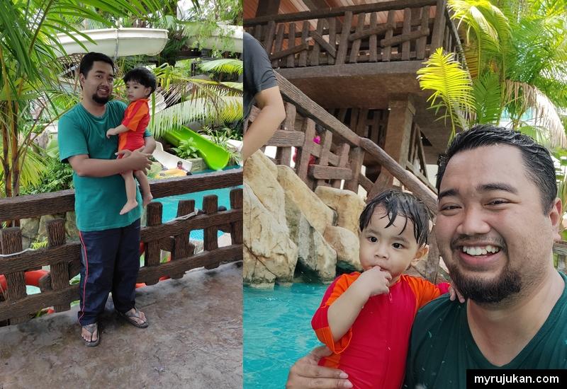 Pengalaman mandi di kolam Laguna Waterpark Grand Orient Hotel