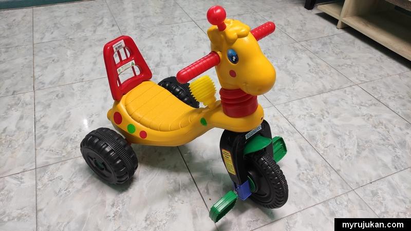 Kids bicycle seperti ini dapat melatih anak kecil anda
